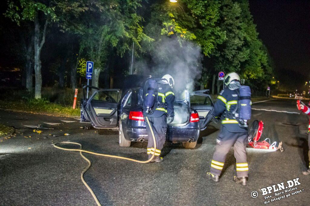 11.09.2021 / Brand-Bil i det fri / Gladsaxe
